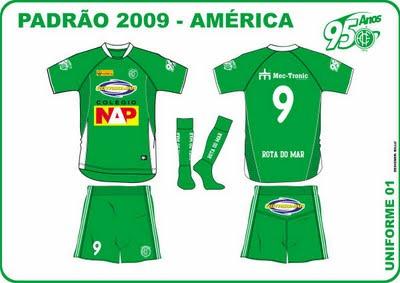 Agora é Oficial: camisas do América de Recife à venda