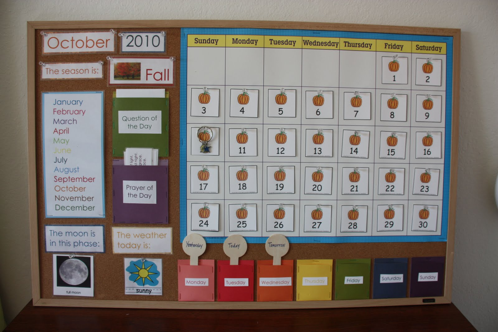Calendar Design For Preschool : Counting coconuts our classroom calendar circle time