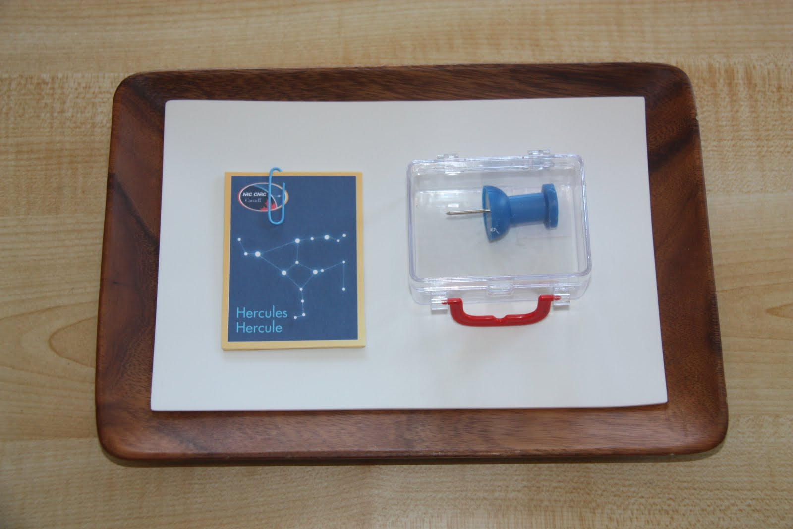 Constellation Pin Punching (Photo from Counting Coconuts)