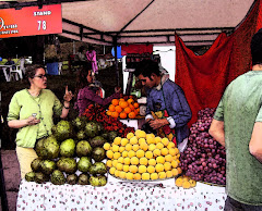 Colombian fruit stand