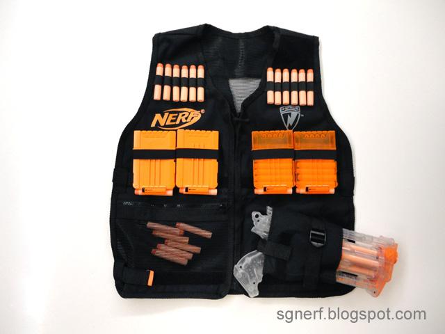 Tactical Vest Patches Nerf Tactical Vest Set