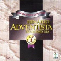 capa Hinario Adventista do Setimo Dia Volume 1 1997 Baixar CD Hinário Adventista do Sétimo Dia   Volume 1