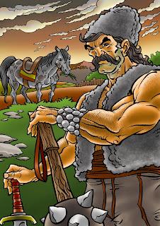 One of our folk heroes - krale marko