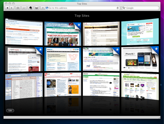 Buscadores y navegadores web: Safari