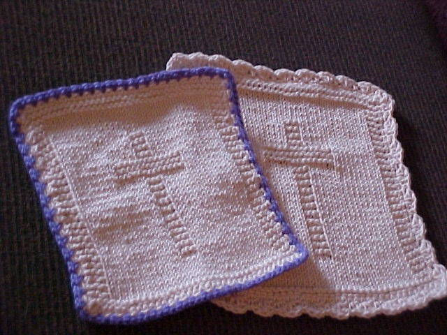Cot Blanket Knitting Pattern : My