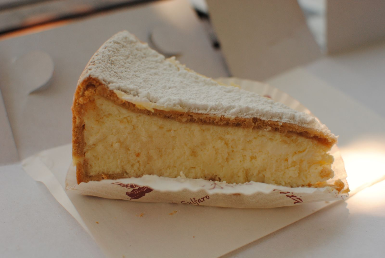 Richard Elliot's Blog: Haberfield Taste Off: Ricotta cheesecake