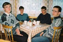 Jhon, Maxi, Vivid y Ramon