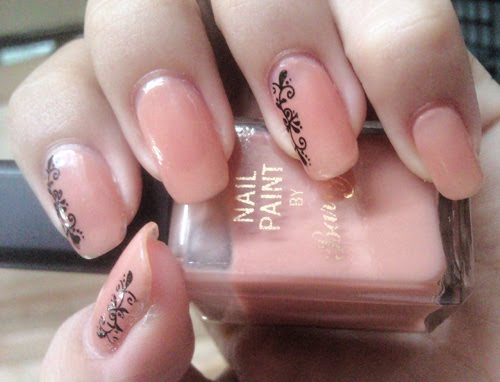 NAIL ART LOVER: Beautiful Nude Nail + M36