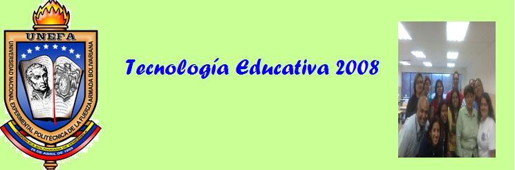 Tecnología Educativa 2008