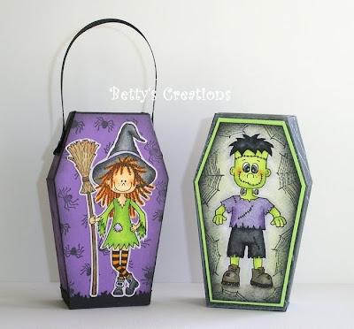 Inspiração halloween +  SchachtelTasche