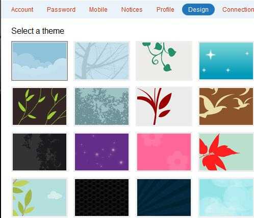 nice backgrounds for websites.  a Twitter profile, a nice customized background always helps the cause.