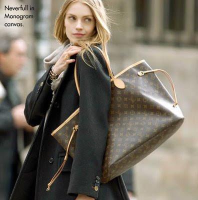 2009 Kışında Büyük Çantalar Yine Moda Olacak