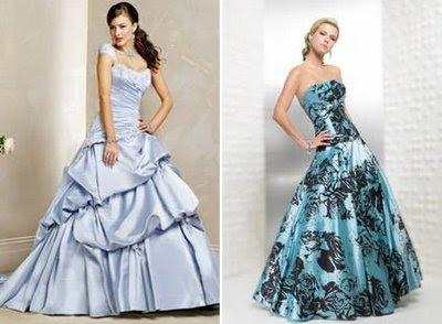 fotos de vestidos de noivas coloridos