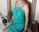 ON SALE/ 70's Vintage Bohemian Striped Sundress -$27-