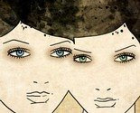 Sisters - giclee print -$24-