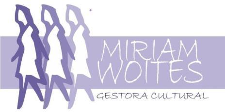 Miriam Woites - Gestión Cultural