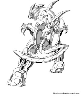 Coloring pages bakugan
