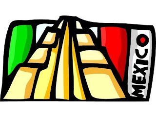Mexican clip art flag image