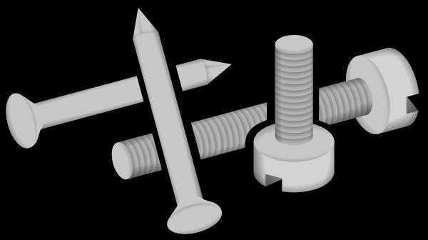 Clip Art Hammer And Nail. Nail Clipart