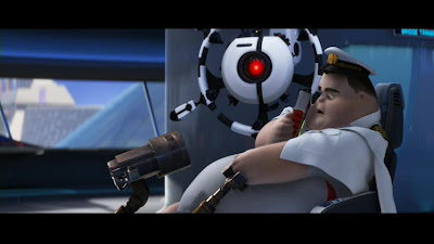 Captain McCrae meets WALL-E as