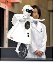Agora eu já vi de tudo - Robôs pedalando