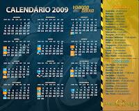 Wallpaper do Calendário da Fórmula 1 2009