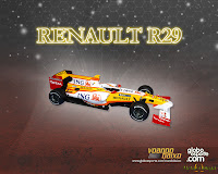 Wallpaper Renaurt R29 F1 2009 1280x1024