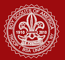 New Troop 1 Centennial Logo