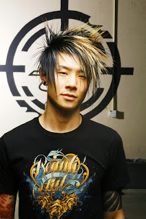 Emo Boys Hairstyle