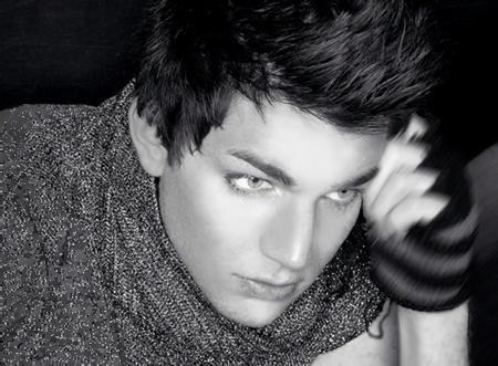 Adam Lambert emo haircut