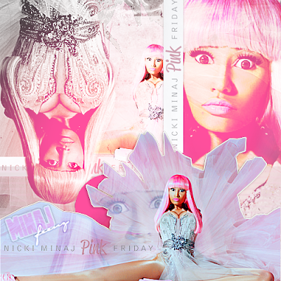 rollerblades album cover. Nicki Pink Friday Album Cover.