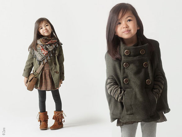 Manteau hiver fille 3 ans zara