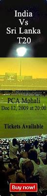 Tickets  India vs Sri Lanka