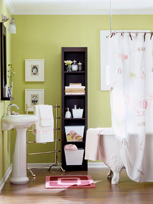 decorology: Cute ideas for small bathroom storage