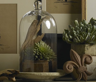 Glamorous French decor and bohemian style home decor