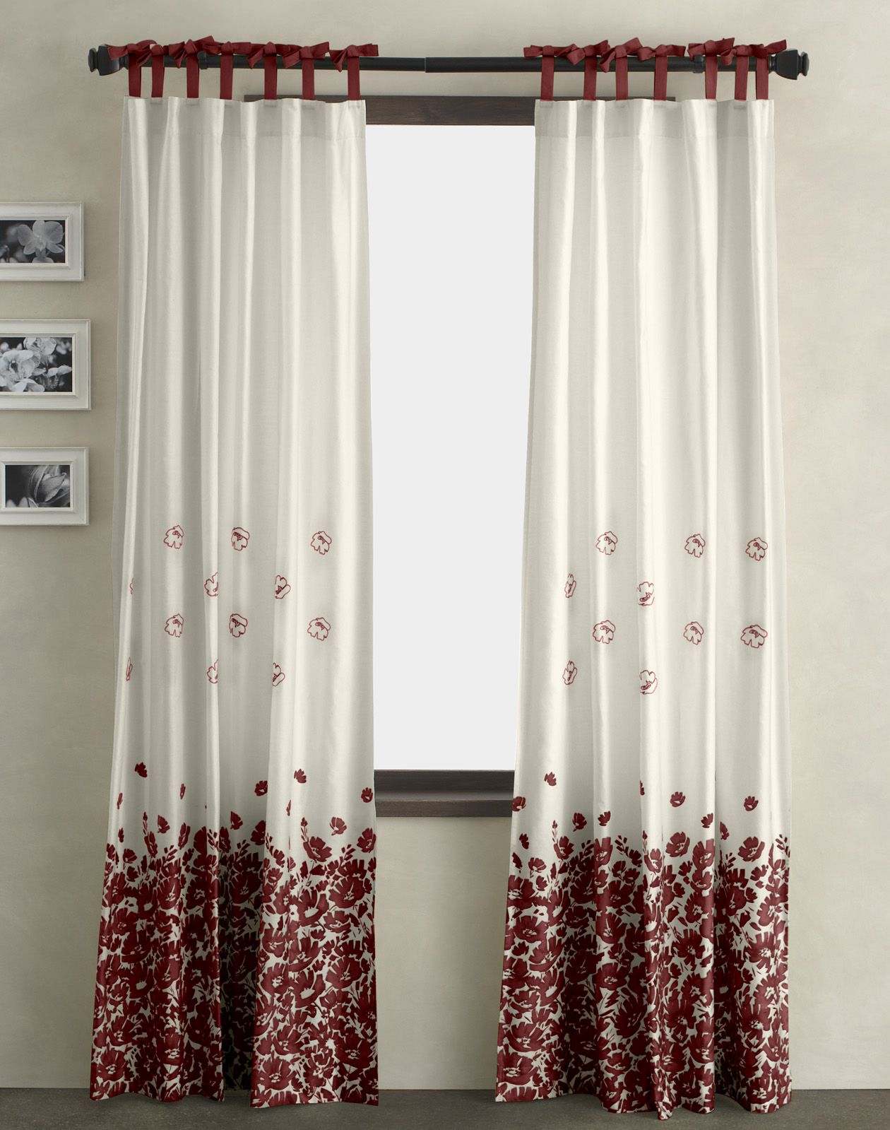 Light Pink Window Curtains Shades for Windows