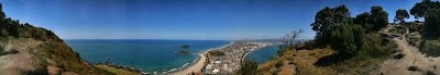 360 Panorama from Mount Maunganui in New Zealand