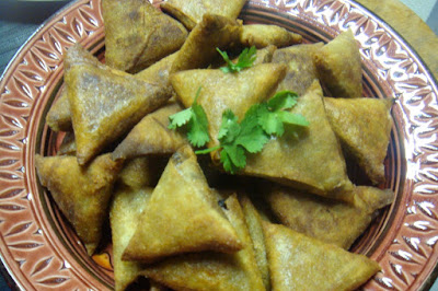 recette samoussa au boeuf samossas