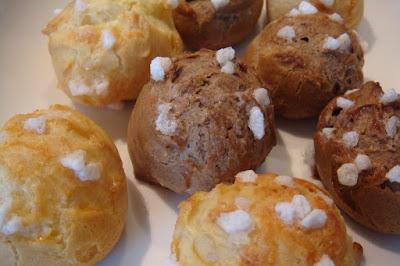 mini+chouquettes+nature+chocolat+gouter+recette+facile