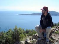 Eduardo Loureiro na Ilha do Sol