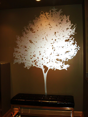 Tree Wall Decals in Silver
