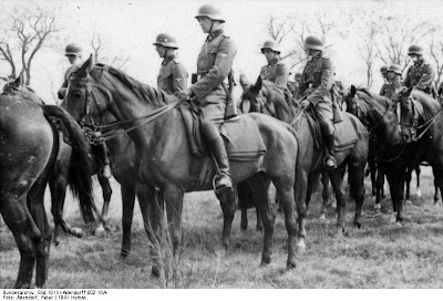 Men and Horses of the SS Cavalry Brigade September 1941.