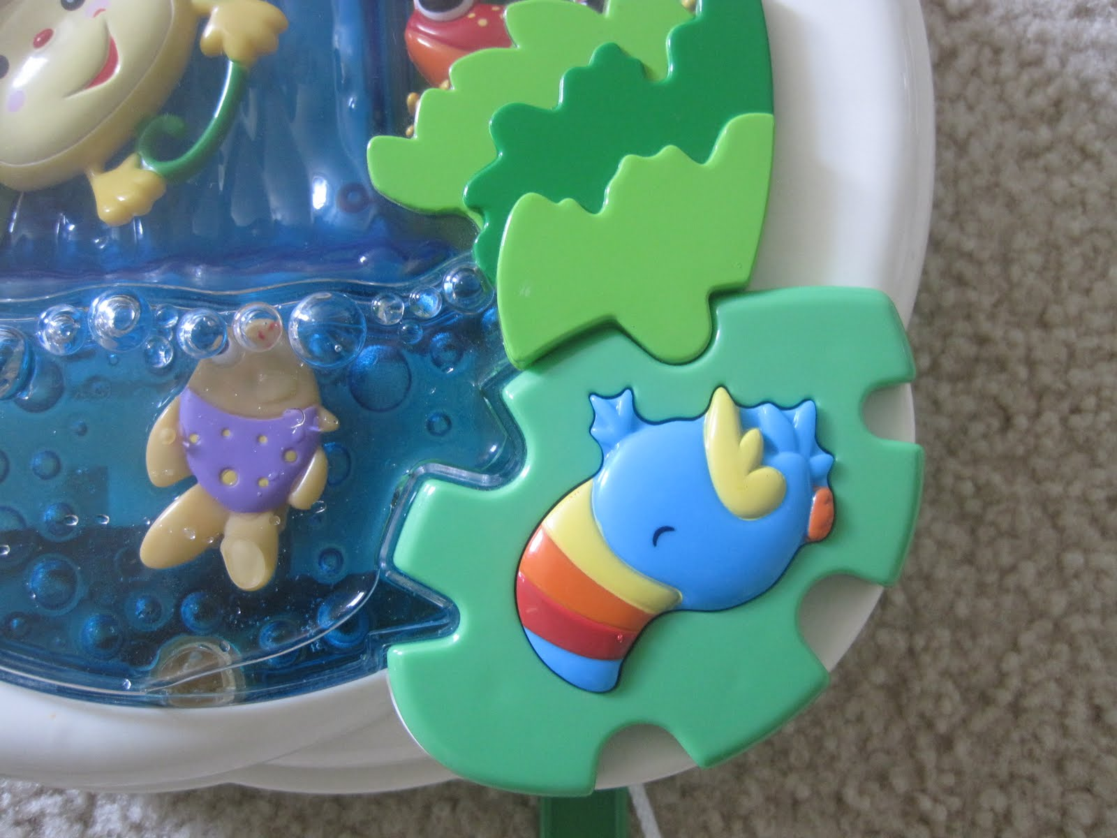 fisher price rainforest soother instructions