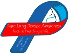 The rare lung disease ribbon!