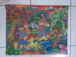 koleksi lukisan anak-anak