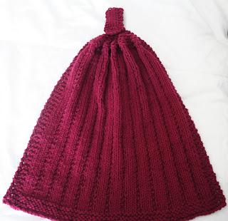 Wishing I was Knitting at the Lake: KBB Kitchen Hanging Hand Towel