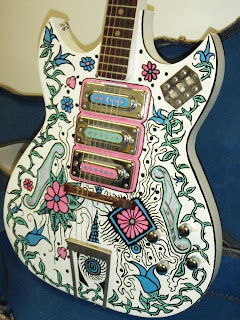 I Think This Is A Very Cool Looking Paint Job On Guitar