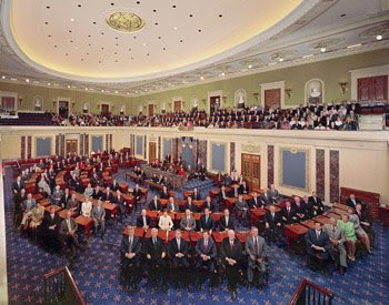 US Senate Chambers