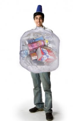 Funny Costumes Ideas Funny Costumes Ideas , Trash Bag Cotumes