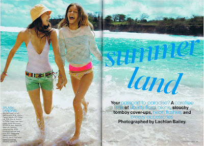 Teen Vogue featured the Stella one-piece (color: plum flower) in this months ...